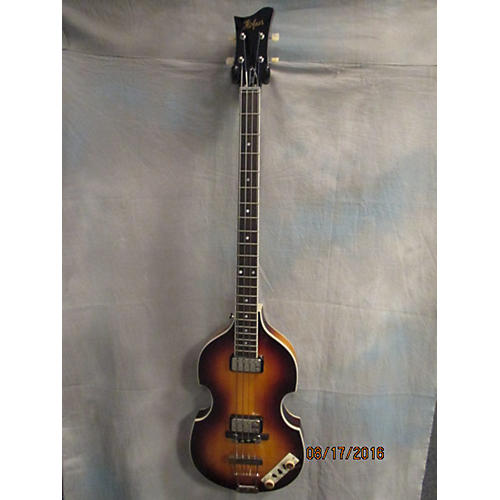 Hofner Club CT Contemporary Electric Bass Guitar Vintage Sunburst