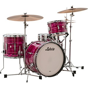 Ludwig Club Date 3-Piece Downbeat Shell Pack with 20 in. Bass Drum by Ludwig