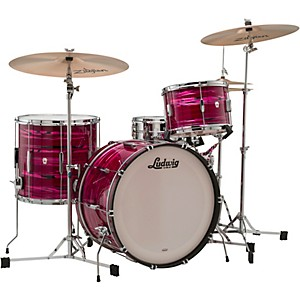 Ludwig Club Date 3-Piece Fab Shell Pack with 22 in. Bass Drum by Ludwig