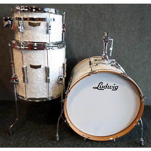 Ludwig Club Date SE Downbeat Drum Kit White Marine Pearl