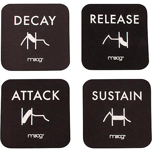 Moog Coaster Set