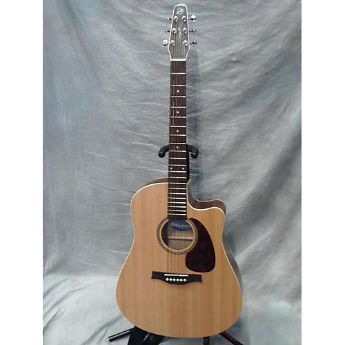 Seagull Coastline S6 Slim CW Spruce QI Acoustic Electric Guitar-thumbnail