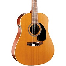 Seagull Coastline Series S12 Dreadnought 12-String QI Acoustic-Electric Guitar Level 1 Natural