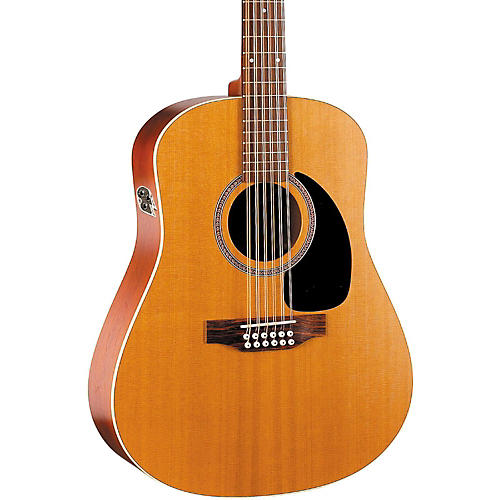 Seagull Coastline Series S12 Dreadnought 12-String QI Acoustic-Electric Guitar-thumbnail