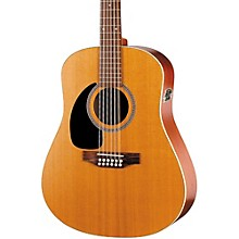 Seagull Coastline Series S12 Left-Handed 12-String QI Dreadnought Acoustic-Electric Guitar