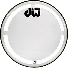 dw coated clear bass drum head 22 in guitar center. Black Bedroom Furniture Sets. Home Design Ideas