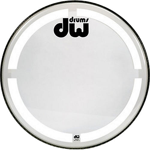 DW Coated Clear Bass Drum Head-thumbnail