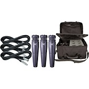 Electro-Voice Cobalt 4 Three Pack with Cables & Bag