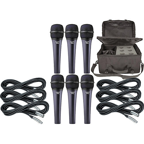 Electro-Voice Cobalt 7 Six Pack with Cables & Bag