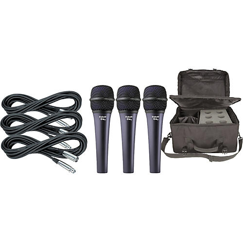 Electro-Voice Cobalt 7 Three Pack with Cables & Bag-thumbnail