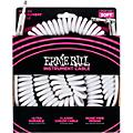 Ernie Ball Coiled Straight-Angle Instrument Cable - White  Thumbnail
