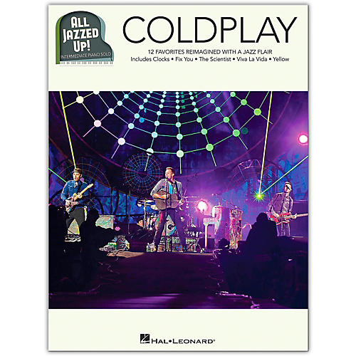Hal Leonard Coldplay - All Jazzed Up!  Intermediate Piano Solo Songbook-thumbnail