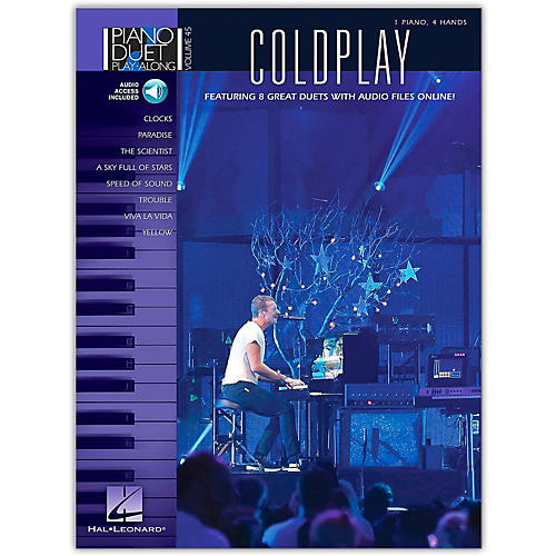 Hal Leonard Coldplay - Piano Duet Play-Along Volume 45 Book/Online Audio-thumbnail