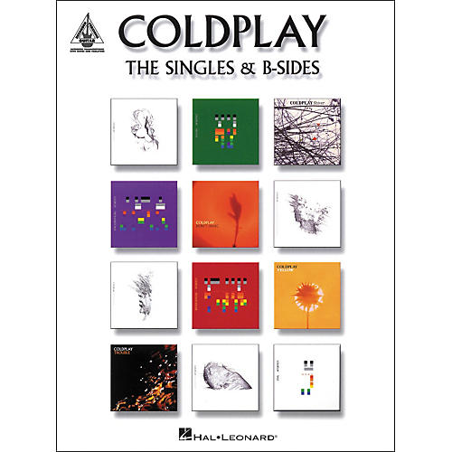 Hal Leonard Coldplay - The Singles and B-Sides Songbook