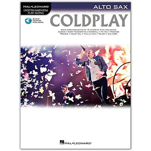 Hal Leonard Coldplay For Alto Sax - Instrumental Play-Along CD/Pkg-thumbnail