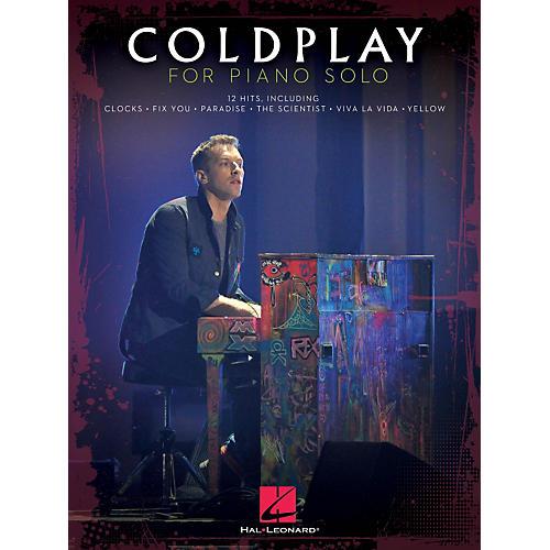Hal Leonard Coldplay For Piano Solo-thumbnail