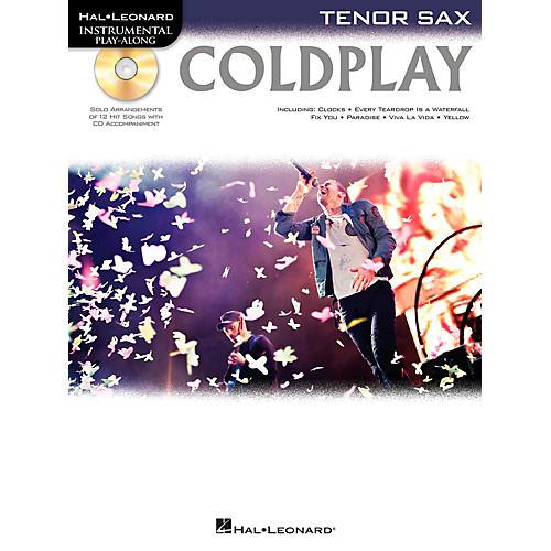 Hal Leonard Coldplay For Tenor Sax - Instrumental Play-Along CD/Pkg-thumbnail