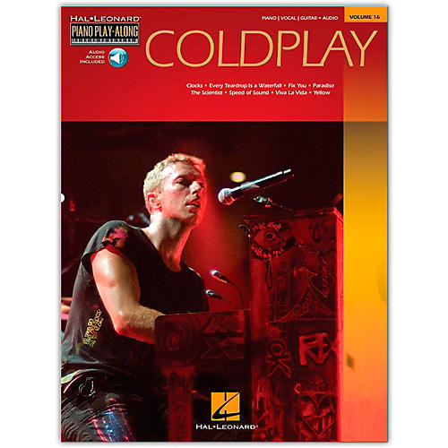 Hal Leonard Coldplay Piano Play-Along Volume 16 (Book/Online Audio)