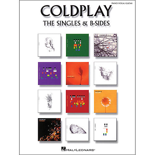 Hal Leonard Coldplay: The Singles & B Sides Pvg arranged for piano, vocal, and guitar (P/V/G)-thumbnail