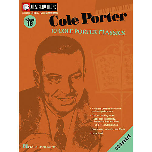 Hal Leonard Cole Porter - Jazz Play Along Volume 16 Book with CD-thumbnail