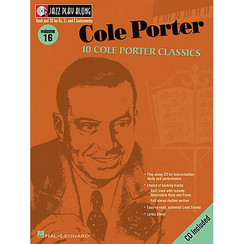 Hal Leonard Cole Porter - Jazz Play Along Volume 16 Book with CD