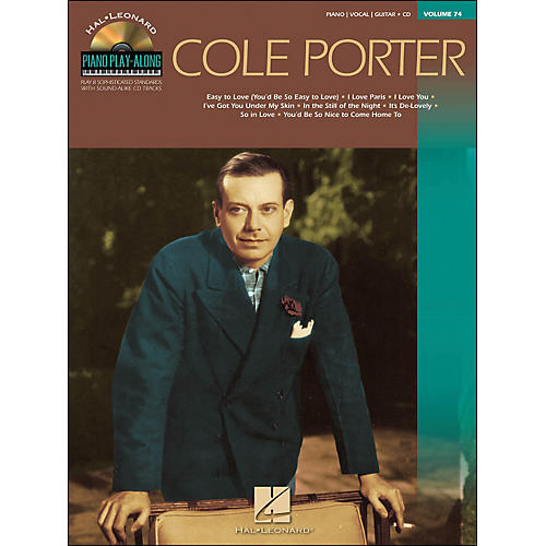 Hal Leonard Cole Porter - Piano Play-Along Volume 74 (CD/Pkg) arranged for piano, vocal, and guitar (P/V/G)-thumbnail