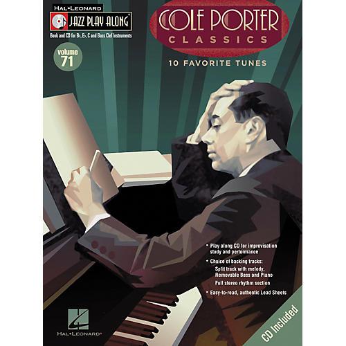 Hal Leonard Cole Porter Classics - Jazz Play Along Volume 71 Book with CD