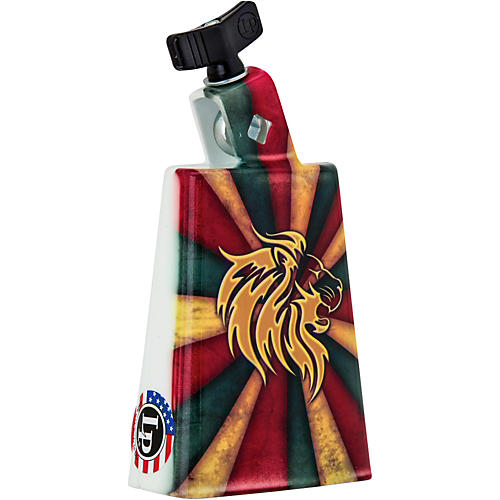 LP Collectabells Rasta Burst Cowbell 5 in.