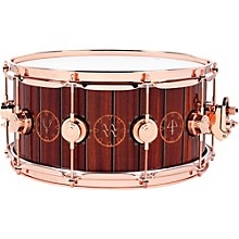 DW Collector's Series Rush Icon Snare Level 1 14 x 6.5 in. Pewter Hardware