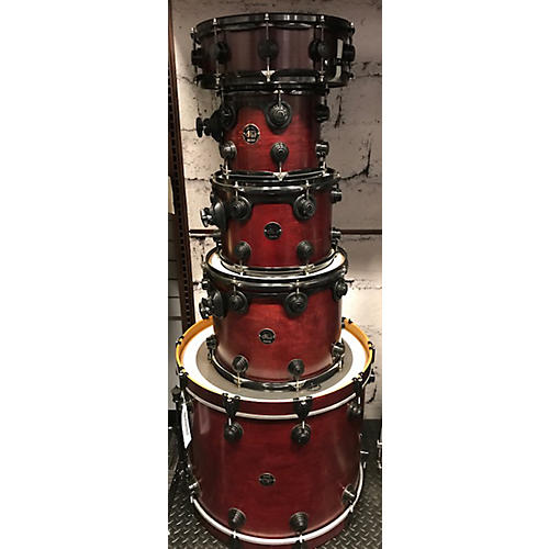 DW Collector's Series Satin Oil Drum Kit