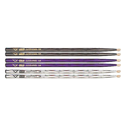 Vater Color Wrap 5A Hickory Drumstick 4-Pack-thumbnail