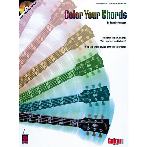 Cherry Lane Color Your Chords Guitar Book/CD-thumbnail