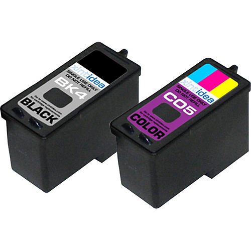 XLNT Idea Color and Black Ink Cartridge Combo