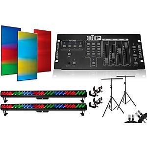 CHAUVET DJ Colorrail DMX4MF 2 Bar Light System by Chauvet DJ