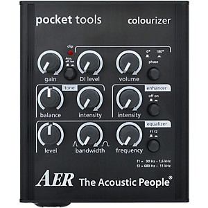 AER Colourizer-2 Acoustic Guitar Direct Box and Preamp by AER