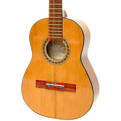 Paracho Elite Guitars Columbian Tiple 12-String Classical Acoustic Guitar Natural  UsedGrade1-thumbnail