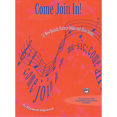 Alfred Come Join In Classroom Songs Book-thumbnail