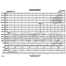 G. Schirmer Come Sunday - Jazz Ensemble Score Jazz Band