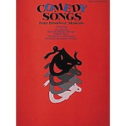 Hal Leonard Comedy Songs from Broadway Musicals Piano/Vocal/Guitar Songbook