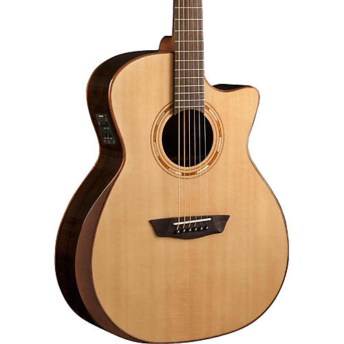 Washburn Comfort Series USM-WCG20SCE Acoustic-Electric Guitar-thumbnail