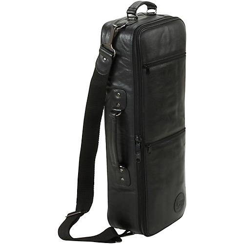 Gard Compact Curved Soprano with Removable Neck Gig Bag Leather