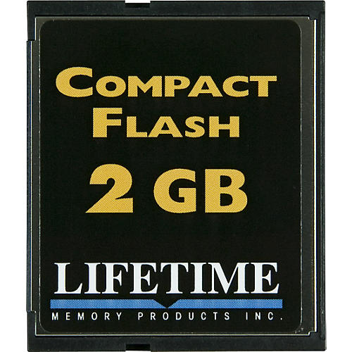 Lifetime Memory Products Compact Flash Card-thumbnail