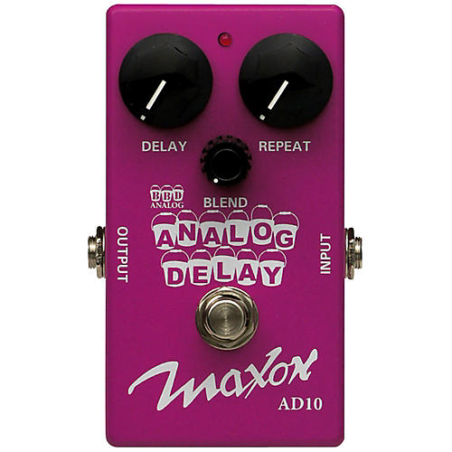 Maxon Compact Series Analog Delay Guitar Effects Pedal-thumbnail