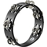 Meinl Compact Wood Tambourine Two Rows Steel Jingles