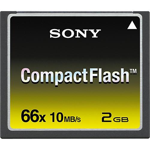 Sony CompactFlash, 66x Speed