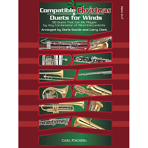Carl Fischer Compatible Christmas Duets for Winds: French Horn-thumbnail