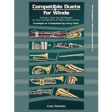 Carl Fischer Compatible Duets for Winds: Alto Saxophone/Baritone Saxophone Book