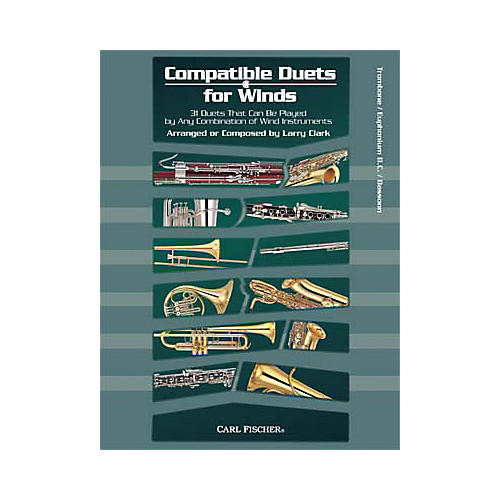 Carl Fischer Compatible Duets for Winds: Trombone/Euphonium B.C. Book-thumbnail