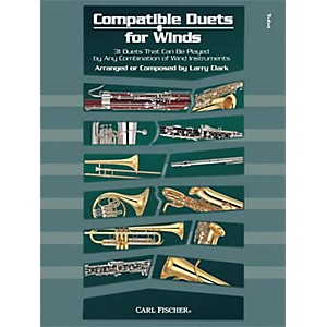 Carl Fischer Compatible Duets for Winds: Tuba Book by Carl Fischer