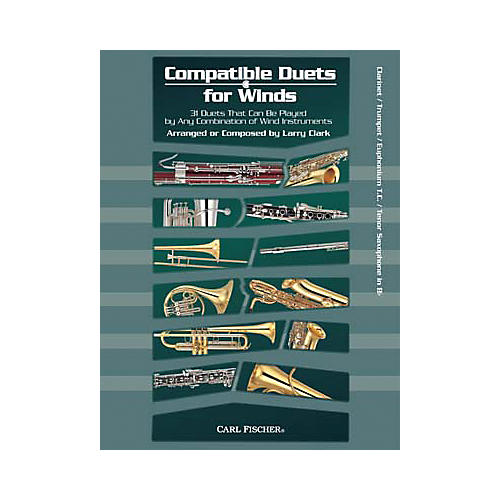 Carl Fischer Compatible Duets for Winds: Winds in Bb Book-thumbnail